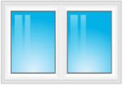 dvoudílné okno fix